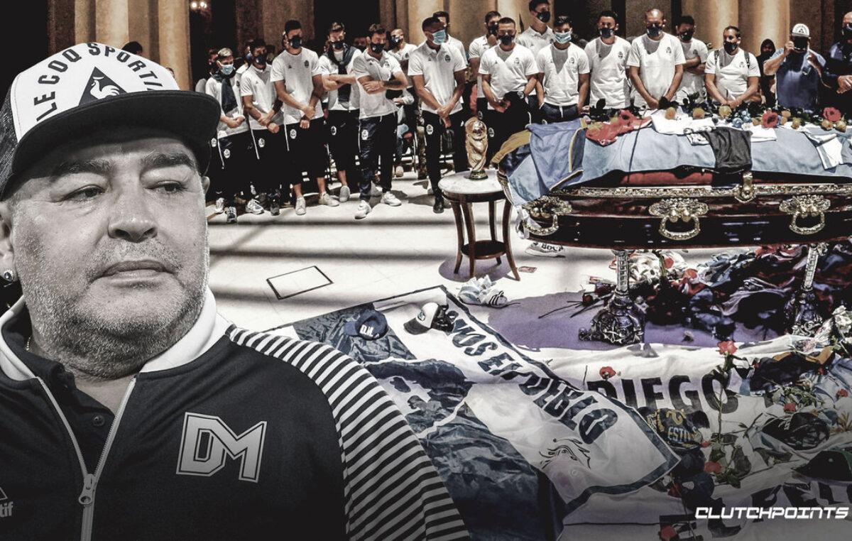 Poslednji pozdrav Maradoni uz hiljade navijača na ulicama