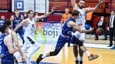 Partizan slavio u Zagrebu protiv Cibone