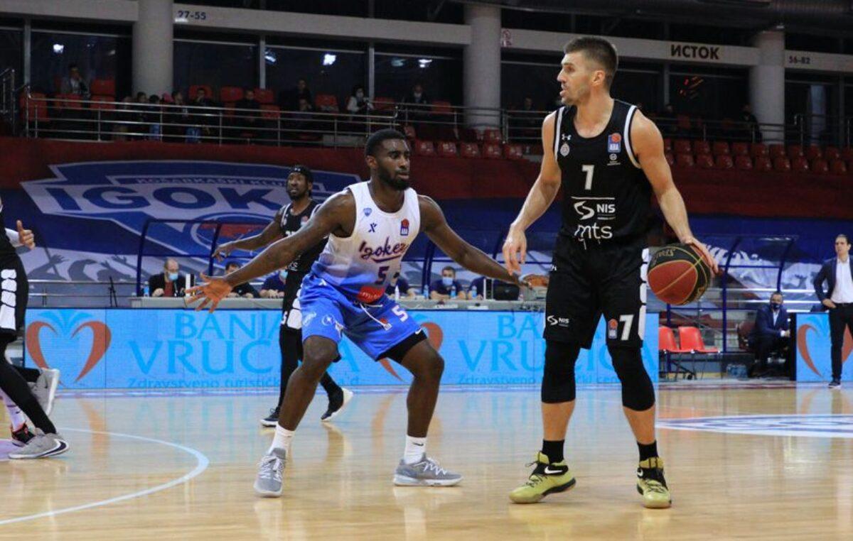 Partizan izgubio i bez Šćepanovića