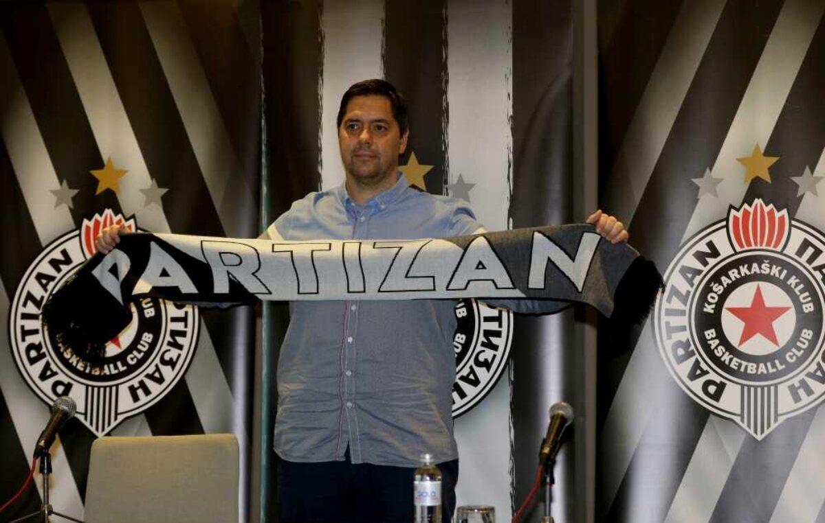 Partizan zvanično predstavio novog trenera