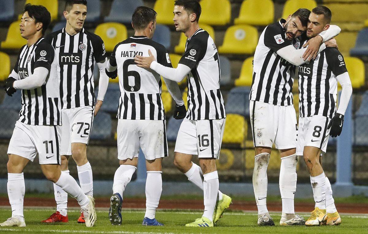 Partizan konačno do ubedljive pobede