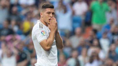 Luka Jović ne igra u meču sezone