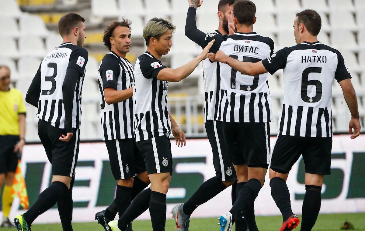 Partizanova četiri gola za kraj fudbalske godine