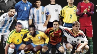 Izabran najbolji tim u istoriji fudbala