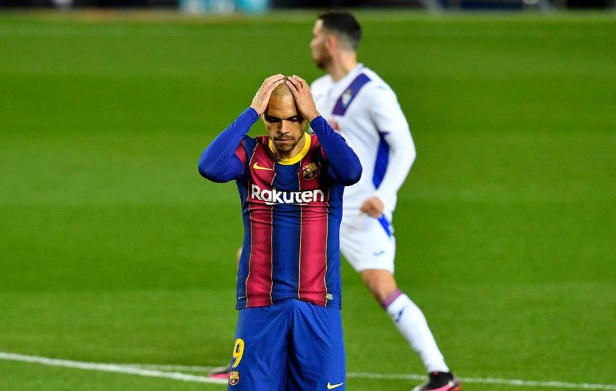 Barselona samo do boda na svom terenu protiv Eibara