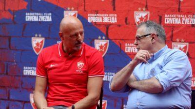 Saopštenje KK Crvena zvezda nakon smene trenera