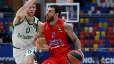 CSKA prekinuo seriju Žalgirisa