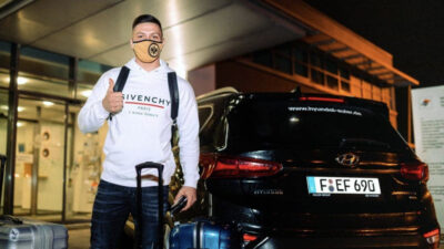 Luka Jović stigao u Frankfurt