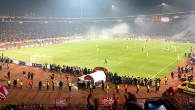 Zvezda protiv Milana sa navijačima!