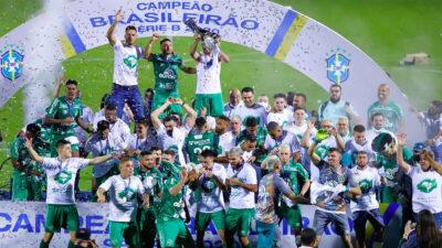 Šapekoense u prvoj ligi Brazila!