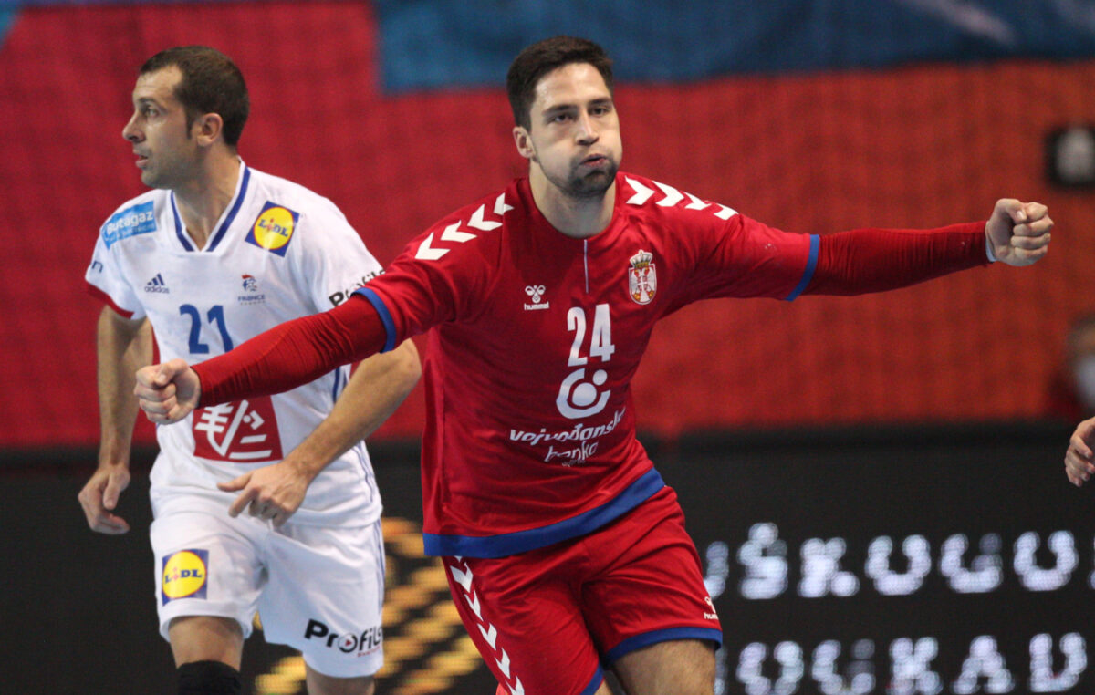 Rukomet: Srbija pobedila favorizovanu Francusku u Zrenjaninu