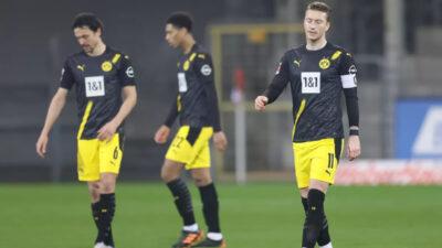 Dortmund novim porazom sve dalje od Lige šampiona (VIDEO)