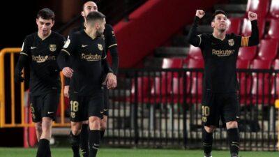 Barselona u meču za infarkt jedva pobedila Granadu i prošla u polufinale Kupa Kralja!