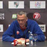 Dan nakon poraza Zvezde u Kaunasu, Radonjić ne zamera ništa igračima