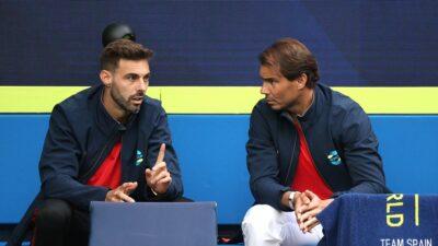 Rafael Nadal je bio glavna figura meča, iako nije igrao. Pogledajte video i nasmejte se.