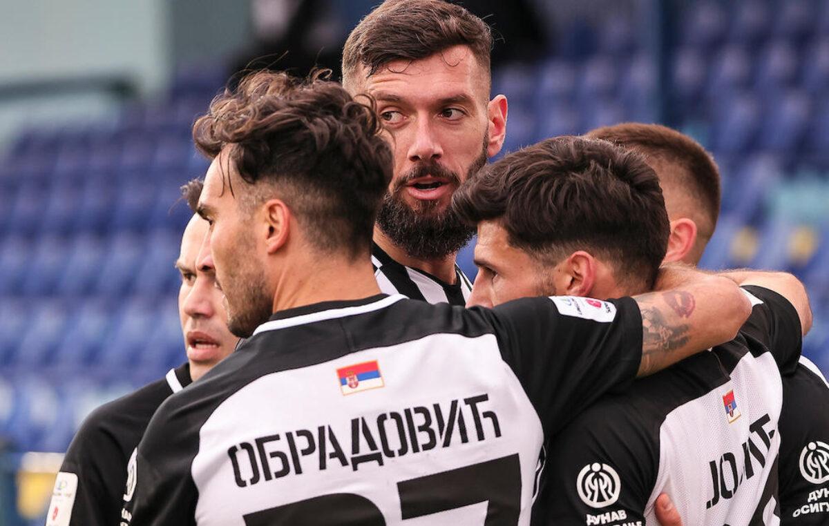 Fudbaleri Partizana nastavili pobednički niz. Ubedljivo savladana Bačka (VIDEO)