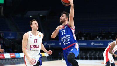 Efes i Micić nemilosrdni u Evroligi! Ubedljivo savladana ekipa CSKA