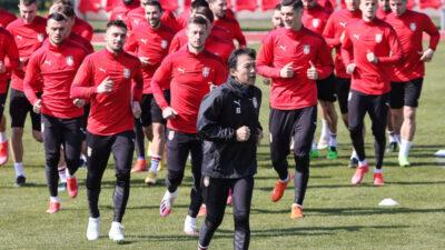 Poslednje pripreme reprezentacije pred Portugal!