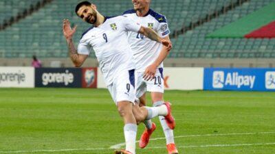 Mitro-gol na turbo pogon! Pobeda Srbije u Bakuu (VIDEO)
