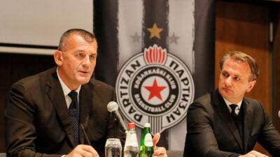 Zoran Savić zvanično predstavljen kao novi sportski direktor KK Partizan