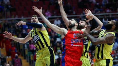 Gudurićeva partija sezone nedovoljna za novi poraz od CSKA!