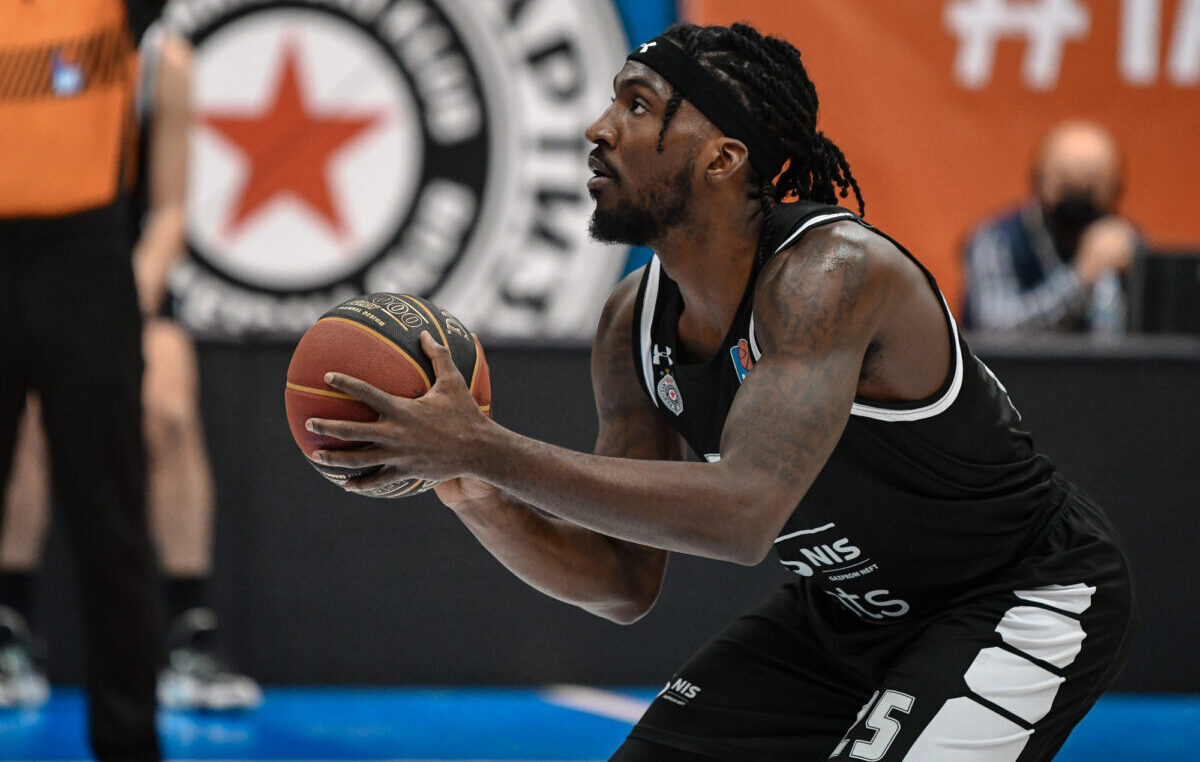 Jedna lepa vest za KK Partizan. Rašon Tomas MVP ABA lige u aprilu