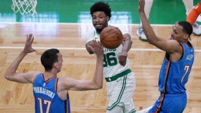 NBA: Oklahoma izbegla bruku. Bobi isključen nakon samo četiri minuta na parketu (VIDEO)