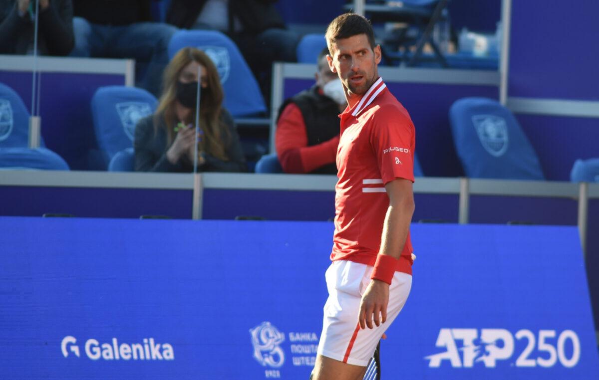 Ako gledamo početak sezone, Novak nije prvi na ATP listi!
