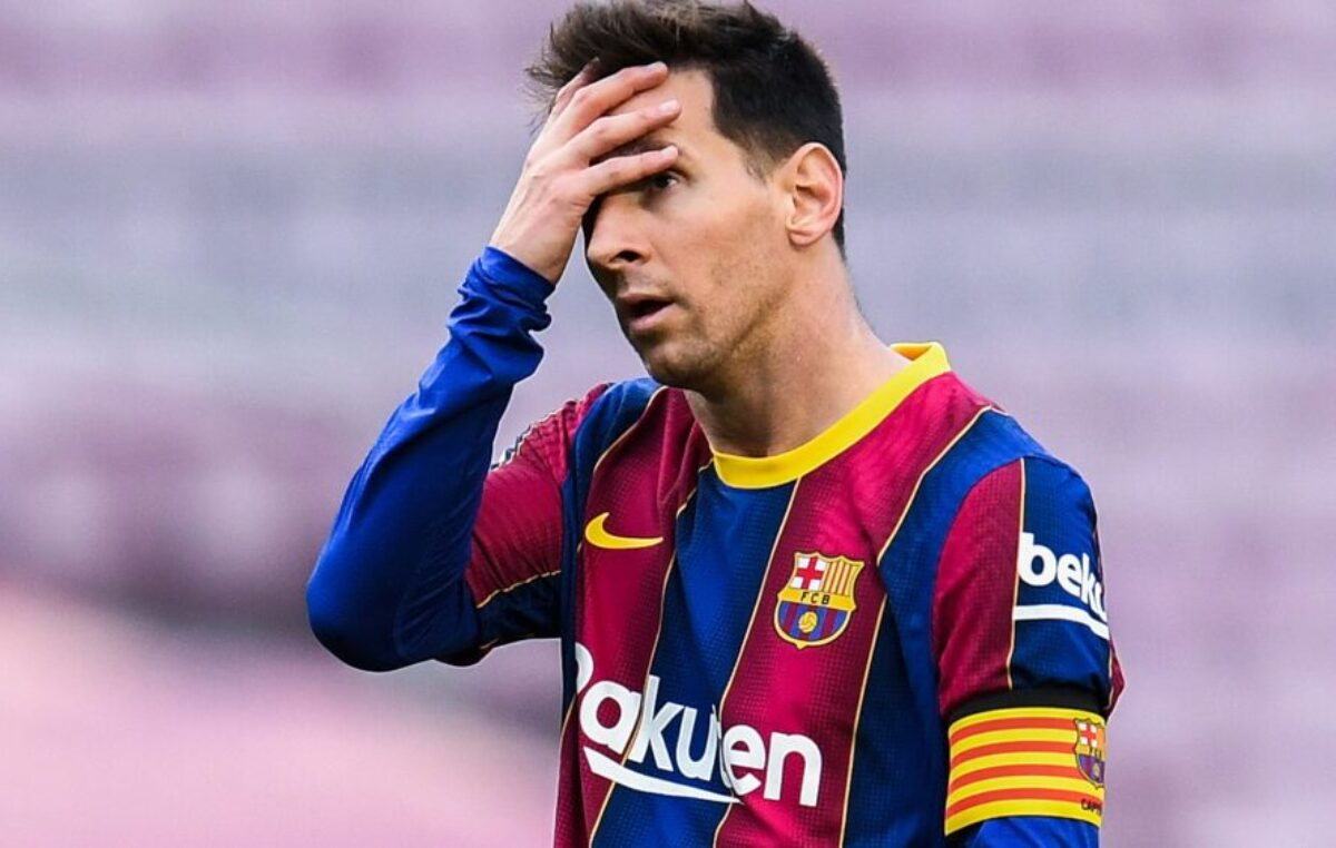 "Mesi pognute glave možda poslednji put napustio teren stadiona ""Kamp Nou""?"