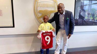 Leo Meso u Arsenalu!