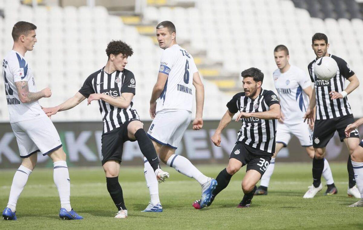 Partizan ubedljiv protiv TSC-a!