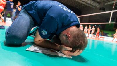 ZA ISTORIJU: Nikola Grbić uplakan nakon osvajanja Lige šampiona sa Zaksom (VIDEO)