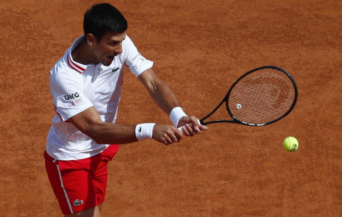 Ubedljiva pobeda Novaka za plasman u četvrtfinale Rima!
