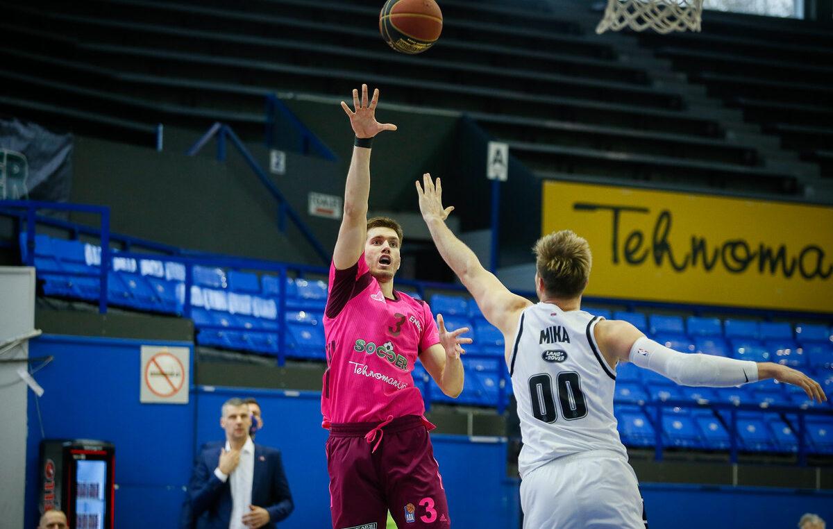 Lošoj sezoni Partizana nema kraja! Mega slavila u prvom duelu polufinalne serije!