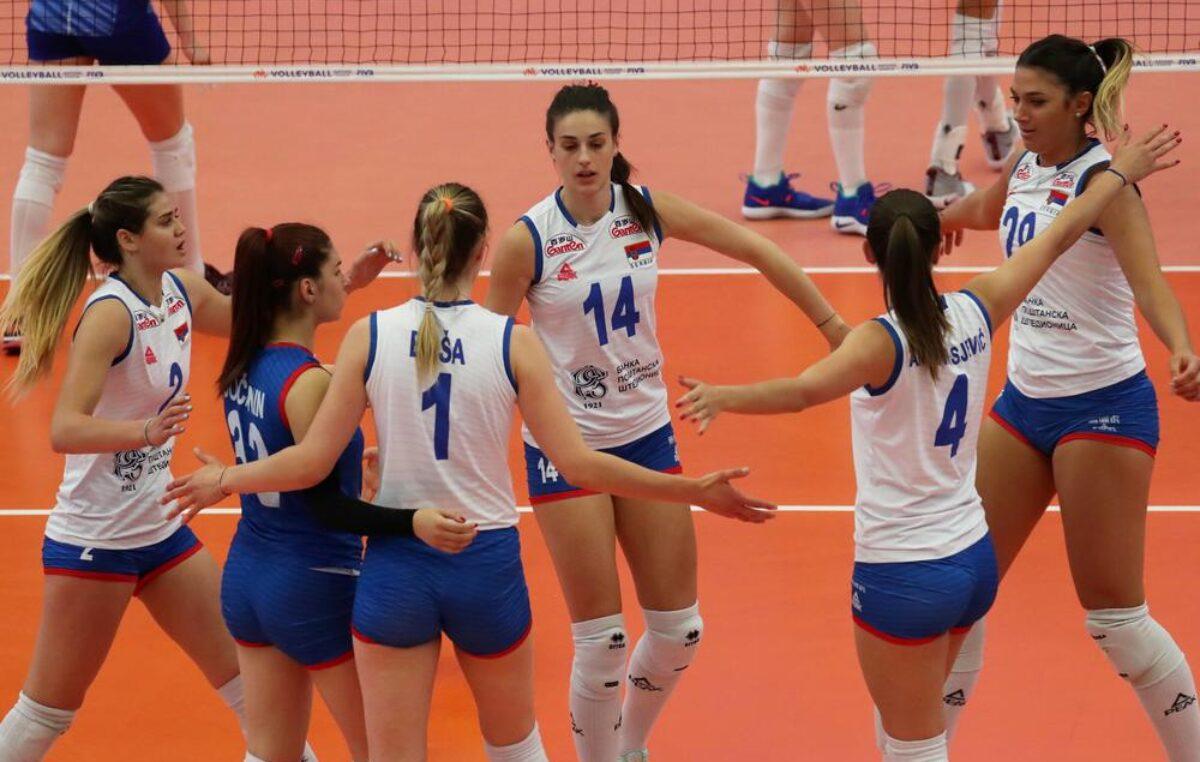 Ubedljiv poraz odbojkašica Srbije!