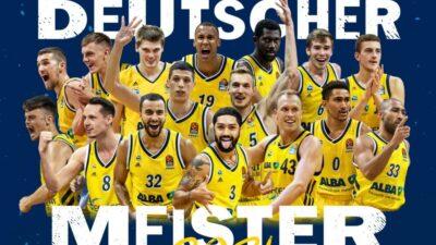 Alba je šampion Nemačke!