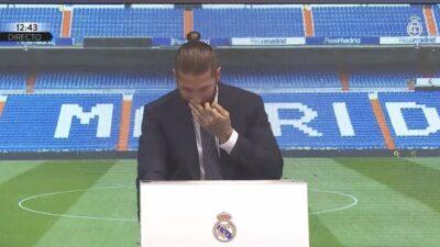 EMOTIVNO: Ramos se u suzama oprostio od Reala!