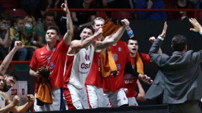 CSKA je šampion VTB lige!