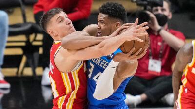 NBA: Milvoki potpuno preokrenuo rezultat u seriji. Bogdan prosečan u porazu Atlante (VIDEO)