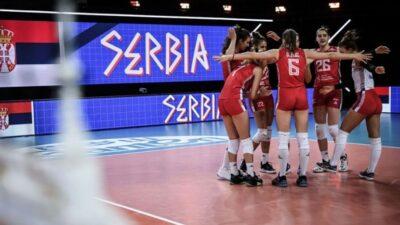 Odbojkašice Srbije savladale domaćina bez izgubljenog seta!