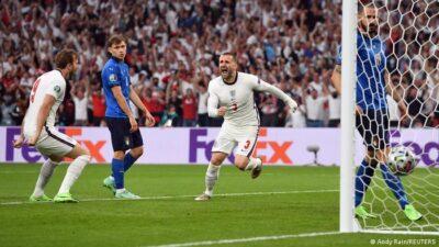 Poluvreme: Engleska-Italija 1:0