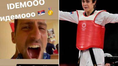 Evo kako su srpski sportisti bodrili Milicu Mandić! (VIDEO)