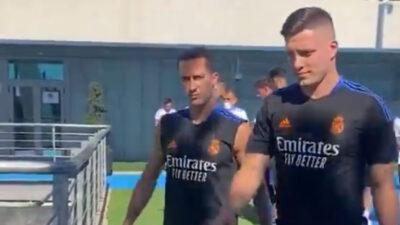 NAVIJAČI REALA U ŠOKU: Jović sa viškom kilograma na prvom treningu! (VIDEO)