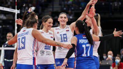 Treća pobeda odbojkašica Srbije!