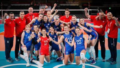 BRAVO: Odbojkašice osvojile bronzu! Ovo je deveta medalja za Srbiju!