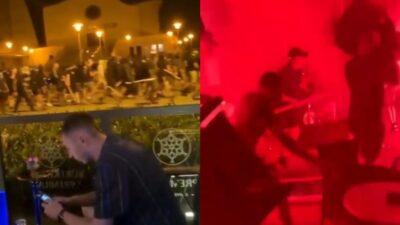 Haos na ulicama Zagreba! Sukob navijača Dinama i Legije! (VIDEO)