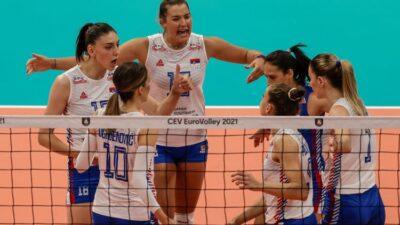 Odbojkašice Srbije u polufinalu Evropskog prvenstva!