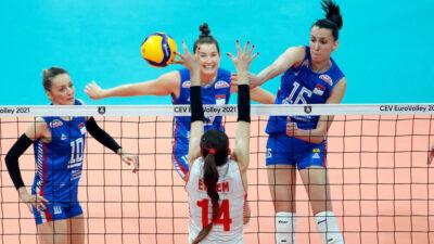 Odbojkašice Srbije u finalu Evropskog prvenstva!