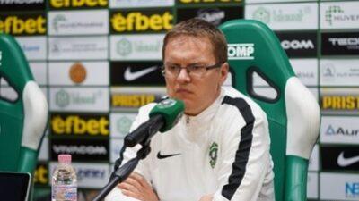 Trener Ludogoreca istakao: I mi imamo zdravstvenih problema!