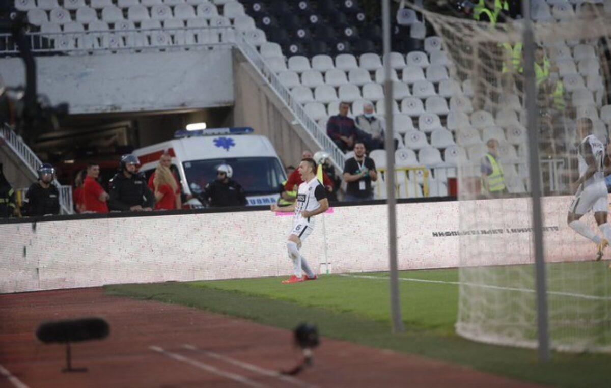 Poluvreme: Partizan  vodi, Natho strelac! (VIDEO)
